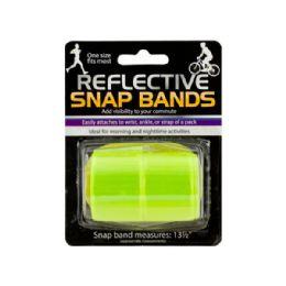 72 Units of Reflective Snap Bands Set - Camping Gear
