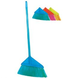 24 Units of Angel broom with 4 foot handle - Cleaning Products