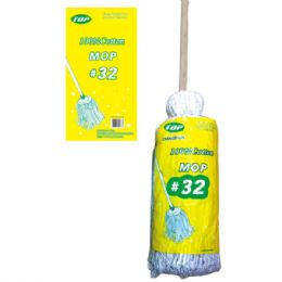 24 Units of Cotton Mop #32 - Cleaning Products