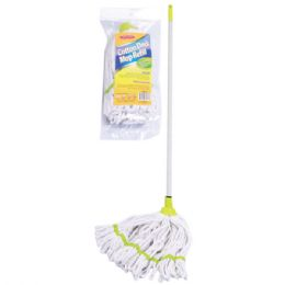 24 Units of Micro Mop Metal Handle - Cleaning Products