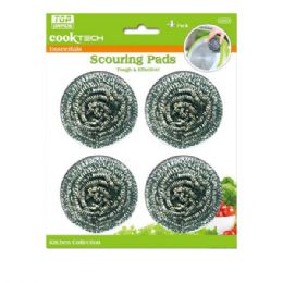 96 Units of 4 Piece Scouring Ball - Scouring Pads & Sponges