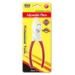 "96 Units of 6"" Adjustable plier - Pliers"