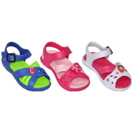48 Units of Toddlers Assorted Color Sandal - Toddler Footwear