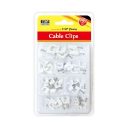 96 Units of Cable clip 6mm/120 Count - Wires