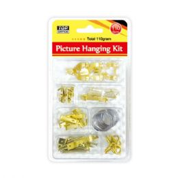 96 Units of Picture hanging kits - Hardware Products