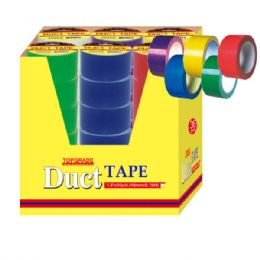 72 Units of Duct Tape 36 Assorted Colors - Tape