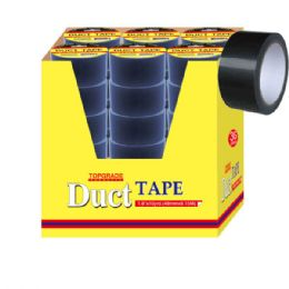 72 Units of Duct Tape Black - Tape
