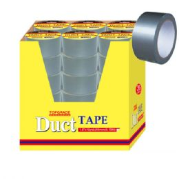 72 Units of Duct Tape Silver - Tape