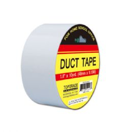 """72 Units of Duct tape/silver 1.8""""x10 yard - Tape"""