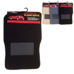 12 Units of 4 Piece car mat set - Auto Sunshades and Mats