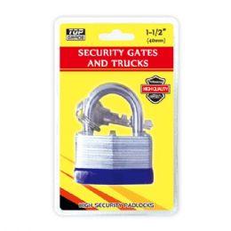 72 Units of Heavy Duty Lock - Padlocks and Combination Locks