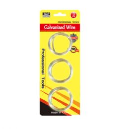 96 Units of 3 Piece galvanized wire - Wires