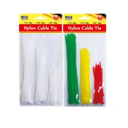 108 Units of 75 Count Nylon Cable Tie - Cables and Wires