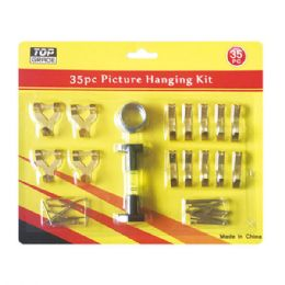 96 Units of Picture hanging kit - Hooks