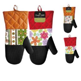 48 Units of Deluxe Cotton Oven Mitt - Oven Mits & Pot Holders