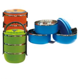 12 Units of 3 layer lunch box - Lunch Bags & Accessories