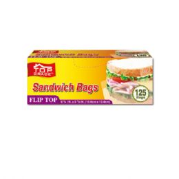 48 Units of Flip Top Sandwich Bag - Food Storage Containers