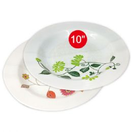 "96 Units of 10""deep melamine plate - Plastic Bowls and Plates"