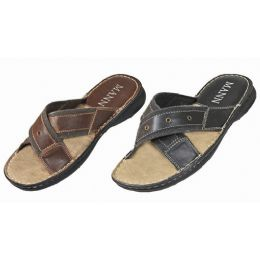 18 Units of Men's Slip On Sandals - Men's Flip Flops and Sandals