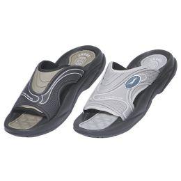 24 Units of Men's sports Slip on Sandals - Men's Flip Flops and Sandals