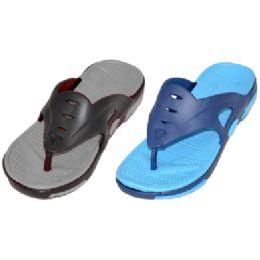 36 Units of Men's Casual Sport Flip Flops - Men's Flip Flops and Sandals