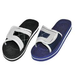 48 Units of Men's Front Closure Sandals - Men's Flip Flops and Sandals