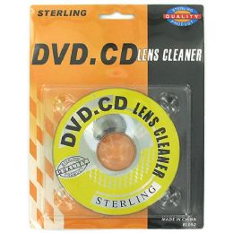 108 Units of CD and DVD lens cleaner - CD AND DVD ACCESSORIES