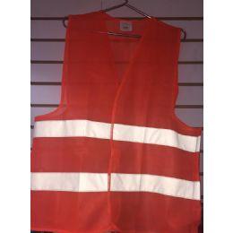 72 Units of Super Reflective Safety Vest--Orange Only - Safety Helmets