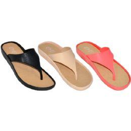 36 Units of Ladies Fashion Flip Flop Sandals - Women's Flip Flops