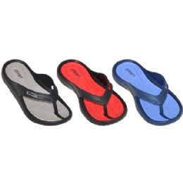 48 Units of Kids Sports Flip Flops - Unisex Footwear