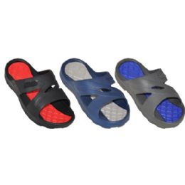 48 Units of Boys Slip On Beach Sandal - Boys Flip Flops & Sandals
