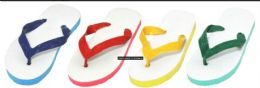120 Units of Kid's Basic Flip Flops - Unisex Footwear