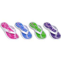 48 Units of Girls Casual Flip Flops - Girls Flip Flops