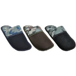 36 Units of Mens Camo House Slippers