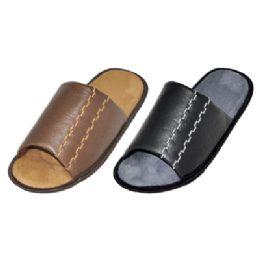 36 Units of Men's Slip On House Slippers