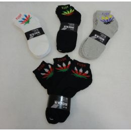 60 Units of 3 Pair Men's Ankle Sock ( Colorful Kush) - Mens Ankle Sock