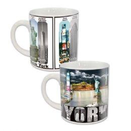 96 Units of Ny Mug 12oz - Coffee Mugs