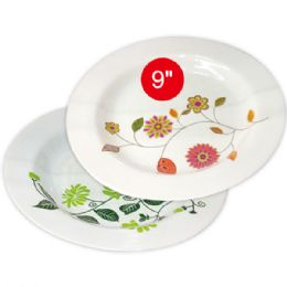"96 Units of 9""deep melamine plate - Plastic Bowls and Plates"