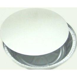 "500 Units of #2107 7"" Round Container Lid - Aluminum Pans"