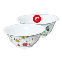 "48 Units of 8""melamine bowl - Plastic Bowls and Plates"