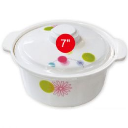 "48 Units of 7""melamine bowl with lid - Plastic Bowls and Plates"