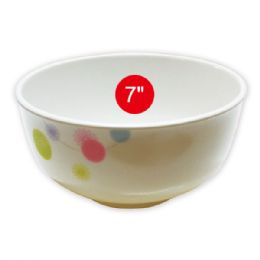 "96 Units of 7""melamine bowl - Plastic Bowls and Plates"