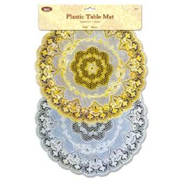 96 Units of Table Mat Round - Placemats
