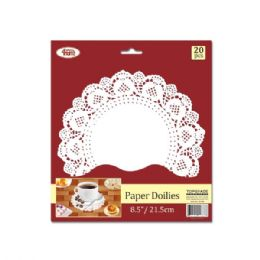 144 Units of Paper doilie Twenty Count - Placemats and Doilies