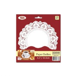 144 Units of Paper Doilie Twenty Four Count - Placemats and Doilies