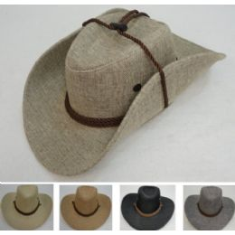 36 Units of Tweed Cowboy Hat - Cowboy & Boonie Hat