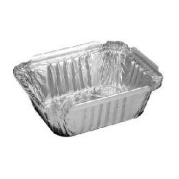 1000 Units of 1 Pound Oblong - Aluminum Pans