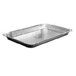 100 Units of Full Size Shallow - Aluminum Pans
