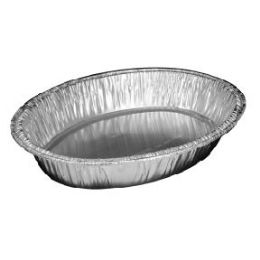 100 Units of Oval roaster - Aluminum Pans