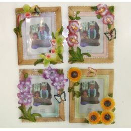 """72 Units of 3.5""""x5"""" Floral Picture Frame - Picture Frames"""